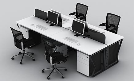 办公家具厂家五件配件的选择