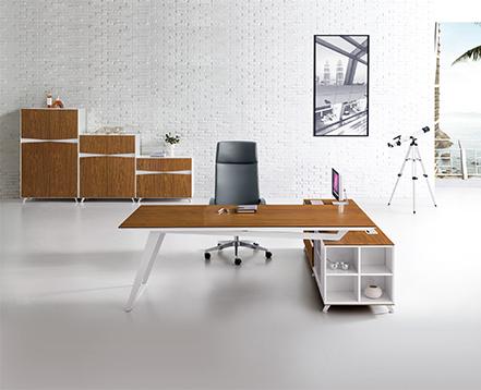上金 钢木大班台 主管桌  经理桌