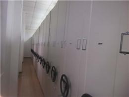 上金办公家具 密集架杨浦医院病历档案室案例实拍图