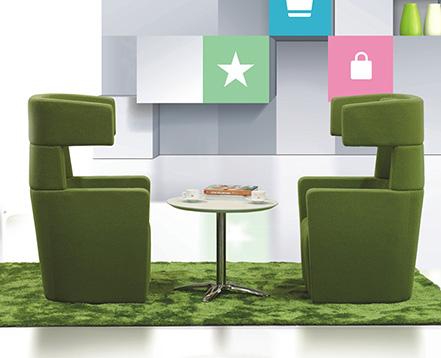 上金 布艺沙发 创意沙发 办公沙发