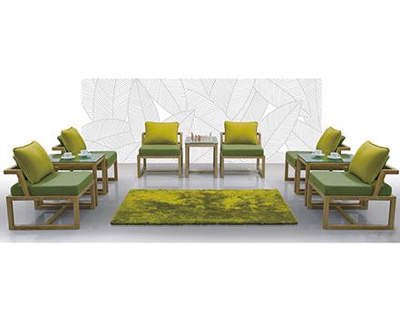 上金 办公沙发 布艺沙发 实木沙发