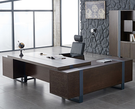 上金 大班台 老板桌 经理桌