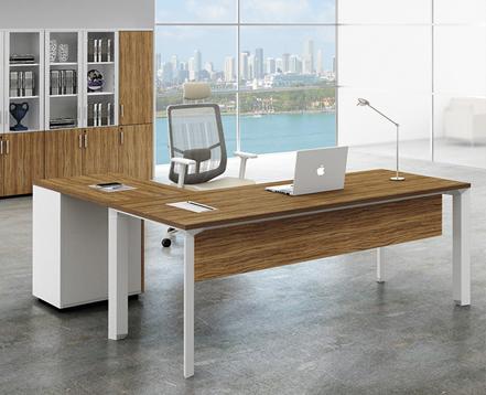 上金 钢木大班台 老板台 主管桌