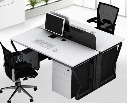 上金 职员位 办公桌  屏风办公桌