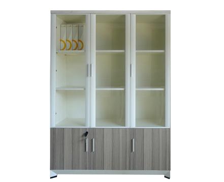 上金 钢木文件柜 储物柜