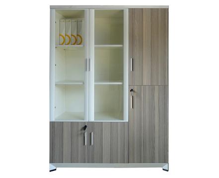 上金 文件柜 钢木书柜