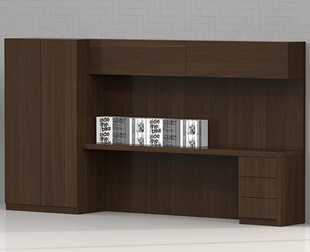 上金 实木书柜 办公柜 文件柜